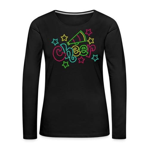 CheerBasic - Långärmad premium-T-shirt dam