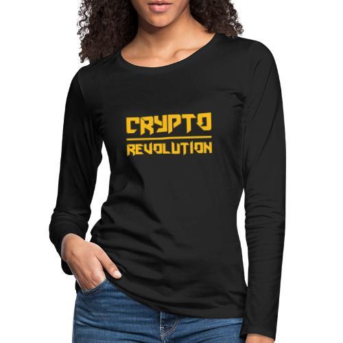 Crypto Revolution III - Women's Premium Longsleeve Shirt