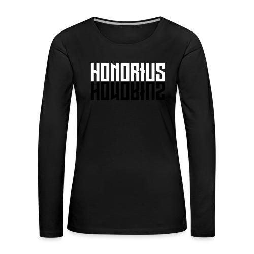 Honorius Classic - Maglietta Premium a manica lunga da donna