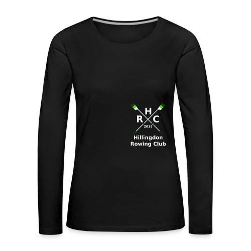 HRC Logo Inverted Brand Refresh Bitmap - Women's Premium Longsleeve Shirt