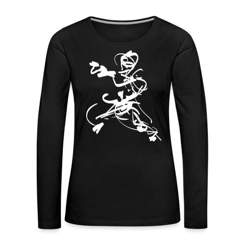 mantis style - Women's Premium Longsleeve Shirt