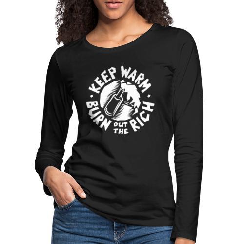kwbor - Frauen Premium Langarmshirt