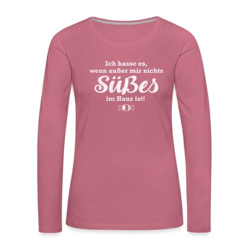 Nichts Süßes - Frauen Premium Langarmshirt