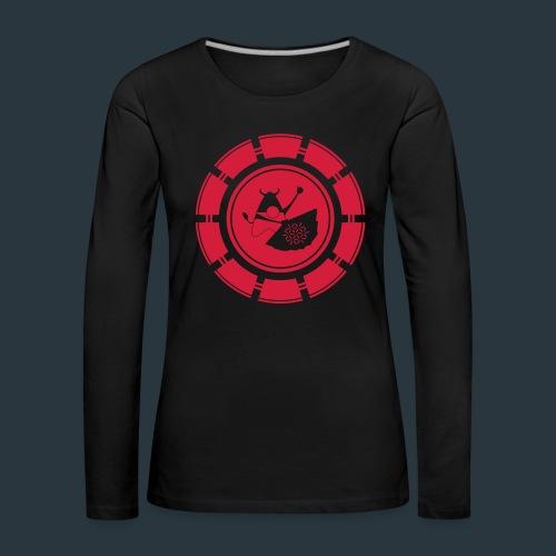 logo-jugntpellier_iron - T-shirt manches longues Premium Femme