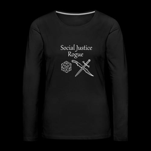 Social Justice Rogue - Women's Premium Longsleeve Shirt