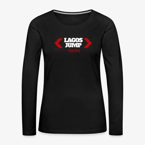 LagosJump Radio (White) 1 - Women's Premium Longsleeve Shirt
