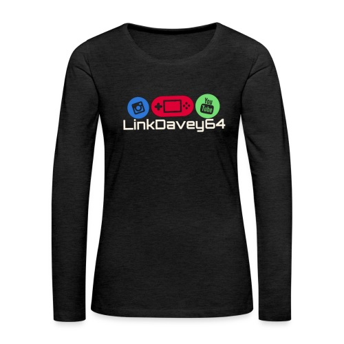 LinkDavey64 - Vrouwen Premium shirt met lange mouwen