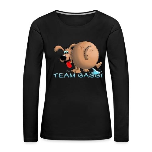 Team Gassi - Frauen Premium Langarmshirt