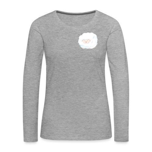 Sheep - Maglietta Premium a manica lunga da donna