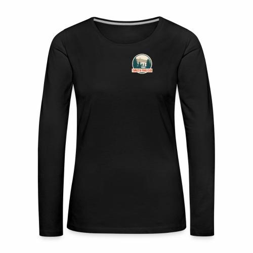 Tawastia Trail Logo - Naisten premium pitkähihainen t-paita