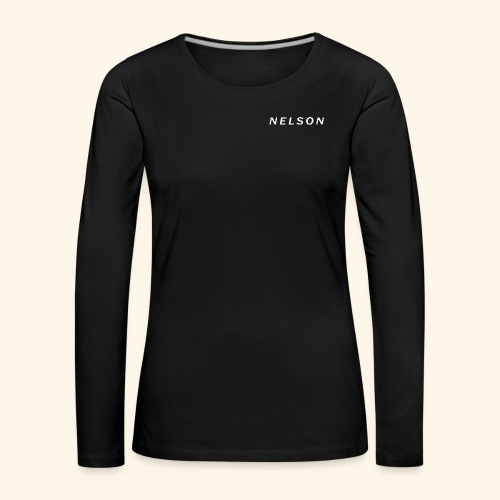 NELSON March Merch - Dame premium T-shirt med lange ærmer
