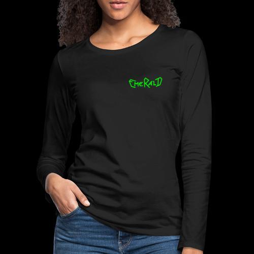Emerald - Frauen Premium Langarmshirt