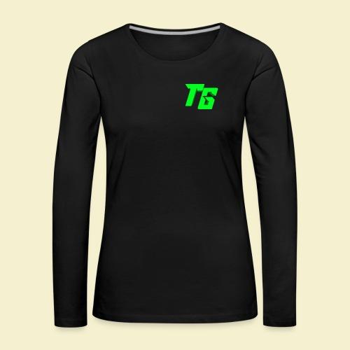 TristanGames logo merchandise - Vrouwen Premium shirt met lange mouwen