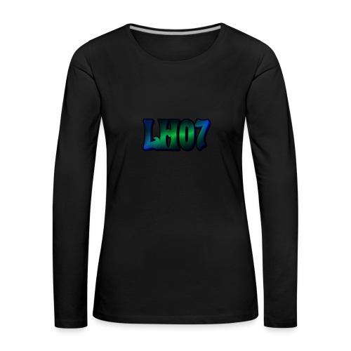 LH07 - Långärmad premium-T-shirt dam