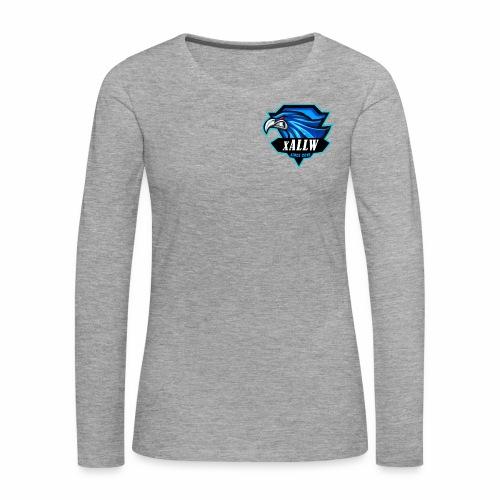 xallw logo - Frauen Premium Langarmshirt
