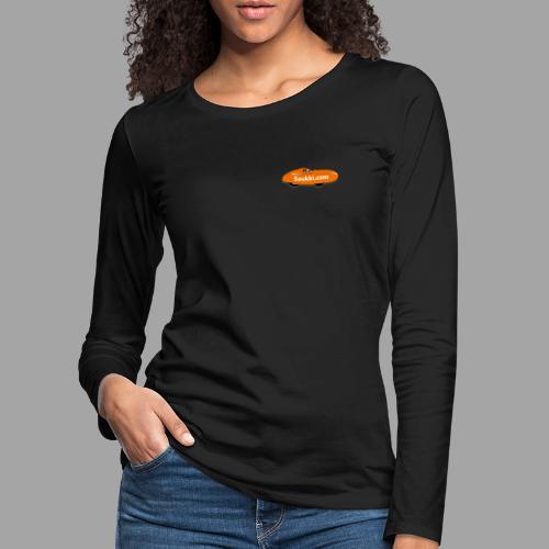 Saukki.com - Naisten premium pitkähihainen t-paita
