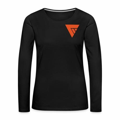 Logo Team Mutation - T-shirt manches longues Premium Femme
