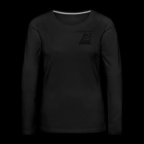 Black Mountain - T-shirt manches longues Premium Femme