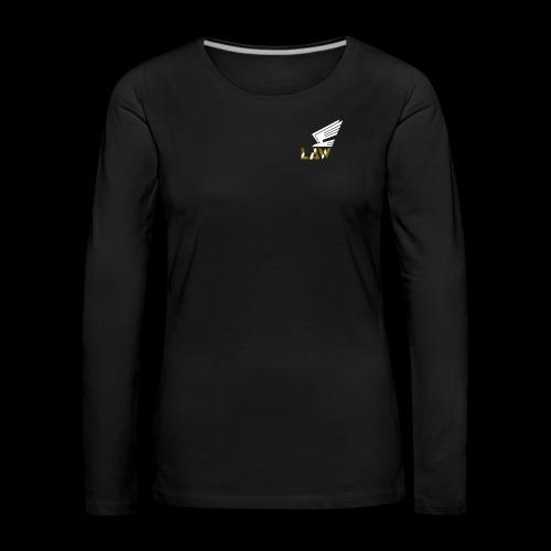 LAW 1 png - Frauen Premium Langarmshirt