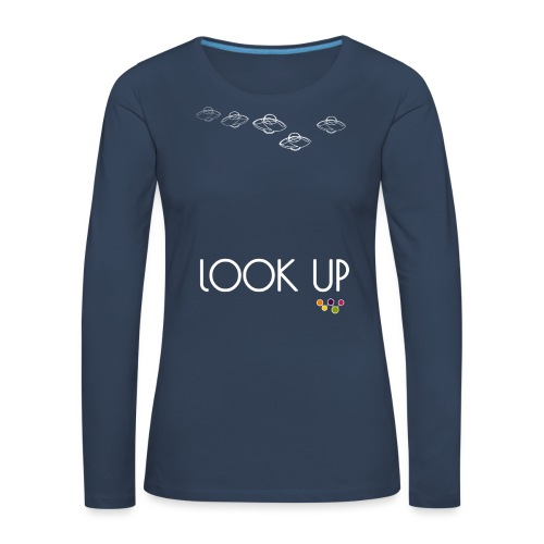 Look Up - Women's Premium Longsleeve Shirt
