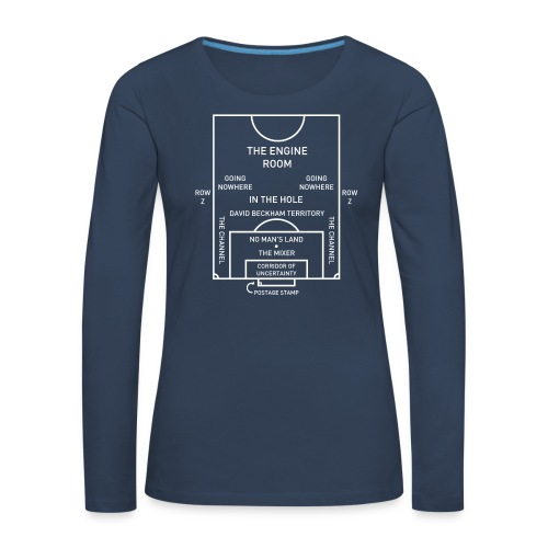 Football Pitch.png - Women's Premium Longsleeve Shirt