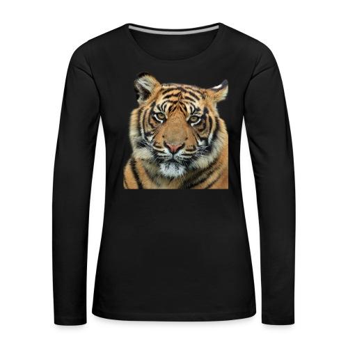 tiger 714380 - Maglietta Premium a manica lunga da donna