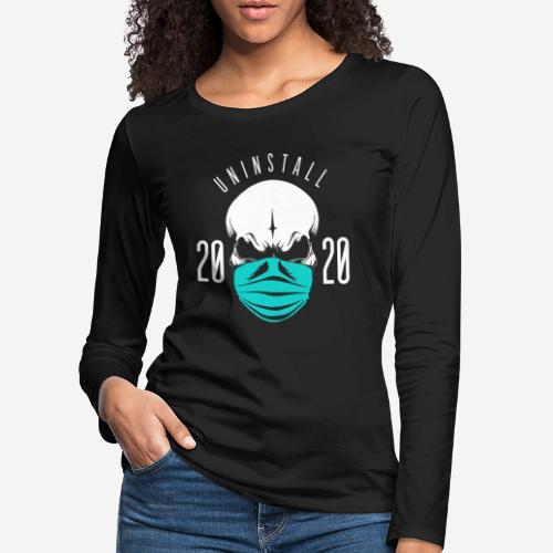 2020 deinstallieren - Frauen Premium Langarmshirt