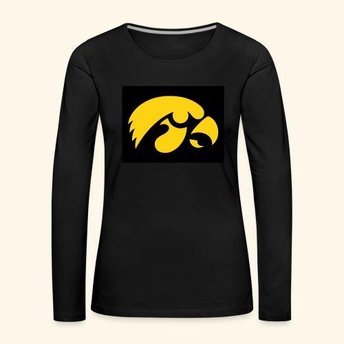 YellowHawk shirt - Vrouwen Premium shirt met lange mouwen