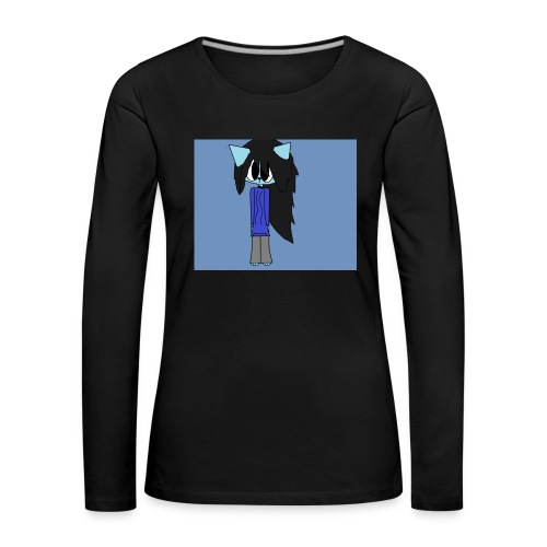 my cartoon self - Women's Premium Longsleeve Shirt