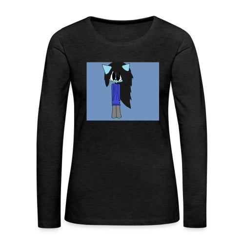 my cartoon self - Women's Premium Longsleeve Shirt