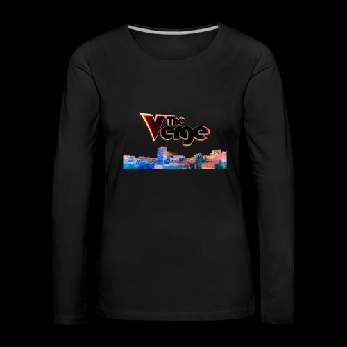 The Verge Gob. - T-shirt manches longues Premium Femme