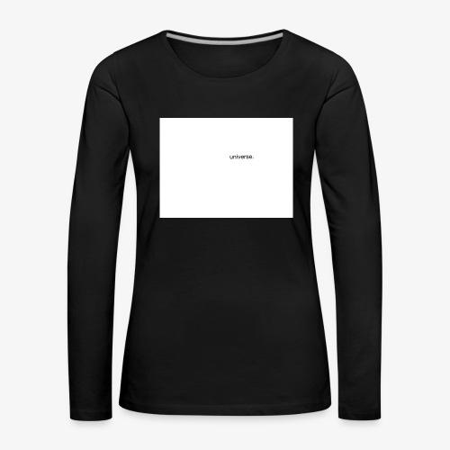 UNIVERSE BRAND SPONSOR - Maglietta Premium a manica lunga da donna
