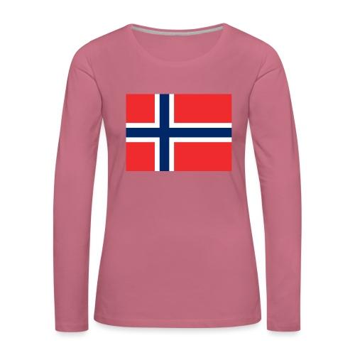 DixieMertch - Premium langermet T-skjorte for kvinner