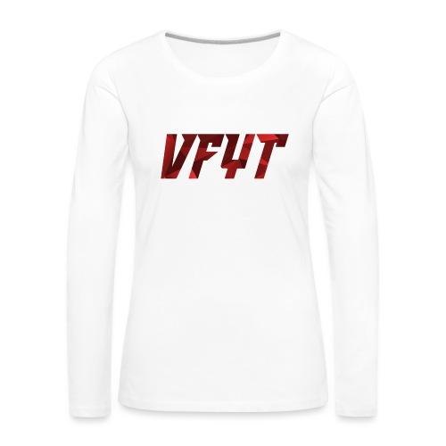 vfyt shirt - Vrouwen Premium shirt met lange mouwen