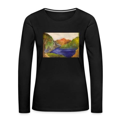 flo 1 - Women's Premium Longsleeve Shirt