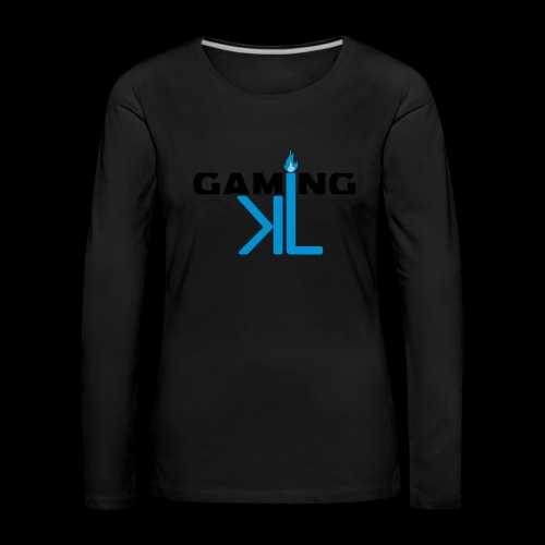Kassu_L LOGO - Naisten premium pitkähihainen t-paita