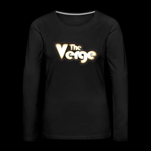 TV logo 005 - T-shirt manches longues Premium Femme
