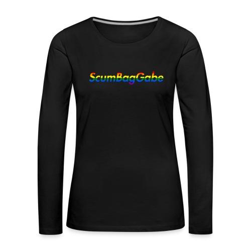 ScumBagGabe Multi Logo XL - Women's Premium Longsleeve Shirt