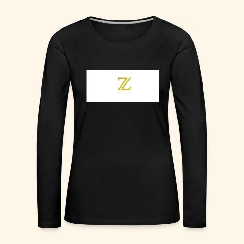 zaffer - Maglietta Premium a manica lunga da donna