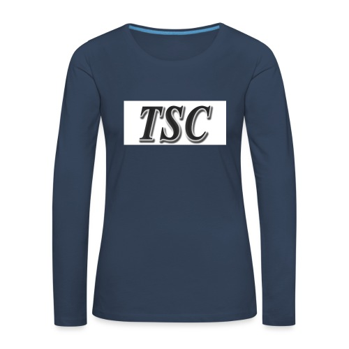 TSC Black Text - Women's Premium Longsleeve Shirt