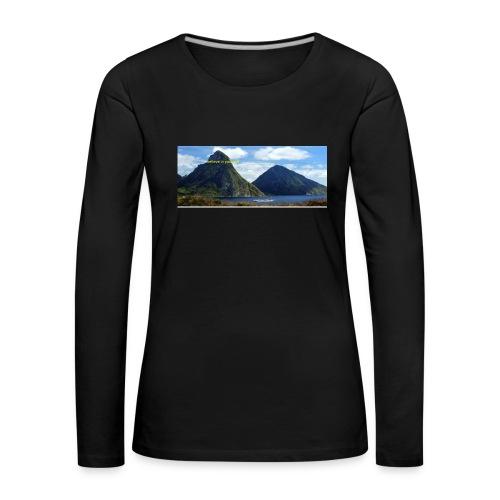 believe in yourself - Women's Premium Longsleeve Shirt