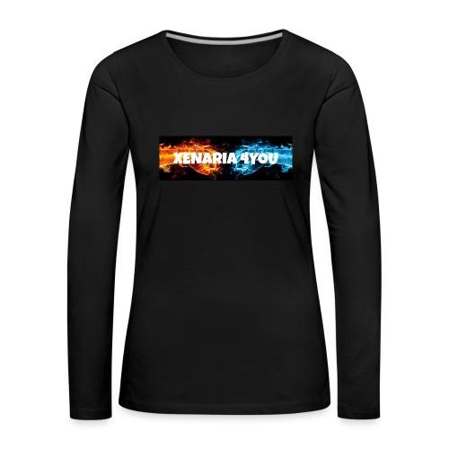 Kolekcja początkowa - Koszulka damska Premium z długim rękawem