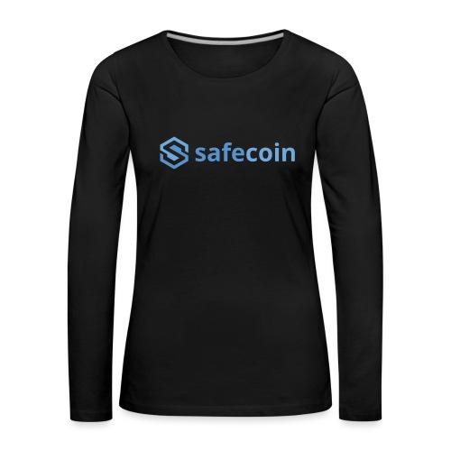safecoin RGB - Women's Premium Longsleeve Shirt