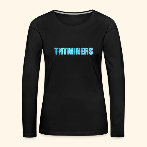 tntminers annan faerg 4 - Långärmad premium-T-shirt dam