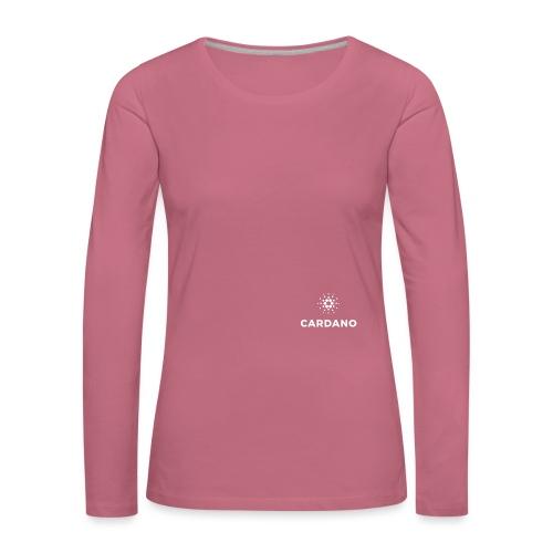 ADA - Koszulka damska Premium z długim rękawem