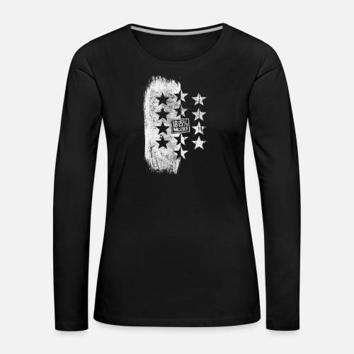 1815% Walliser - Frauen Premium Langarmshirt