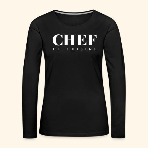 BOSS de cuisine - logotype - Women's Premium Longsleeve Shirt