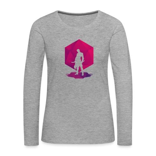 Varjo-salamurhaaja - Dungeons and Dragons d20 - Naisten premium pitkähihainen t-paita