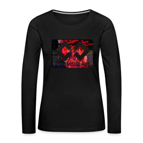 T-SHIRT glitch - Maglietta Premium a manica lunga da donna