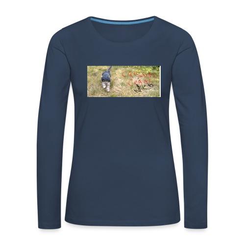 catssin's craat - Koszulka damska Premium z długim rękawem